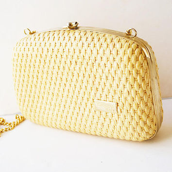 braided straw bag, shoulder bag, italy bag, vintage bag, straw wallets, straw braided, women's gift