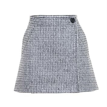 PACO RABANNE | Houndstooth Mini Skirt | brownsfashion.com | The Finest Edit of Luxury Fashion | Clothes, Shoes, Bags and Accessories for Men & Women