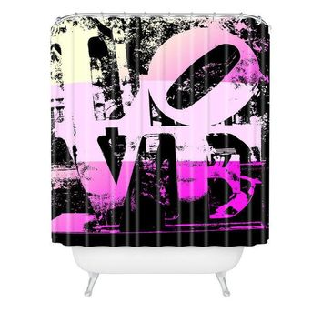 Philadelphia Love shower curtain