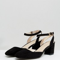 Glamorous Ankle Strap Mid Heeled Shoes at asos.com