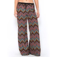 Aztec Print Palazzo Pants - JUST ARRIVED