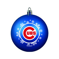 Chicago Cubs Ornament - Shatterproof Ball