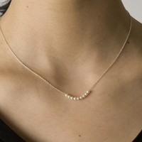 Supermarket: Pearls silver necklace from Flashy era