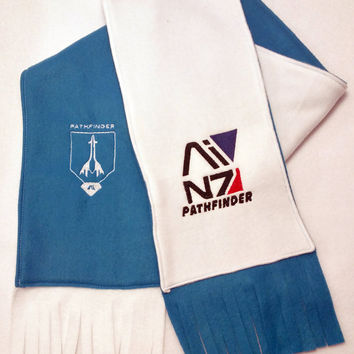 Mass Effect: Andromeda Initiative Pathfinder Two-Tone Scarf