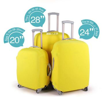 Elastic Protective Luggage Cover for Suitcase Apply To 18~30 Inch