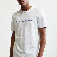 French No Regrets Tee - Urban Outfitters