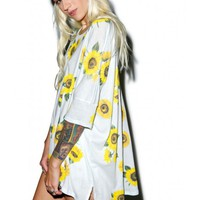Wildfox Couture Contempo Sunflower Sunny Morning Tee | Dolls Kill