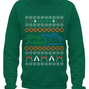 Merry Cruismas Ugly Christmas Sweater merry-cruismas
