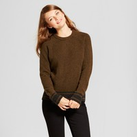 Women's Sporty Tipped Any Day Pullover - A New Day™