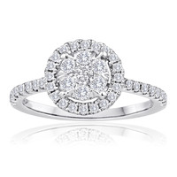 Mischa Look of Love Diamond Engagement Ring Steven Singer Jewelers