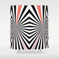 Hypno Shower Curtain by duckyb