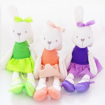 Baby Gift Cute Rabbit Toy Baby Kids Lovely Animal Sleeping Comfort Doll Plush Toy Soft Stuffed Appease