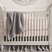 Belle Upholstered Crib Collection | Restoration Hardware Baby & Child