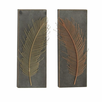 """Metal Wall Panel 2 Assorted 12""""W 32""""H"""
