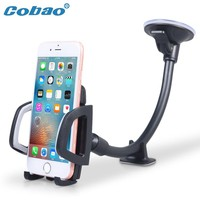 Cobao Universal Car Phone Holder Windshield  Mount Holder 30cm Long Arm Mobile Phone Holder Stand for iPhone Phone Accessories