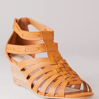 DONA GLADIATOR WEDGE SANDAL