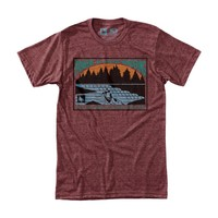 Shasta Tee Heather Rust / HippyTree