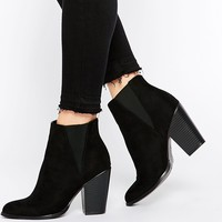 New Look Block Heel Ankle Boot