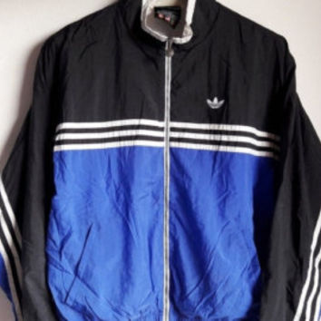 25% Clearance Sale Vintage 1990s Adidas Equipment Trefoil Sportswear Windbreaker Jacket Large