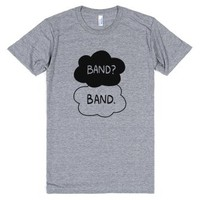 Band? Band.-Unisex Athletic Grey T-Shirt