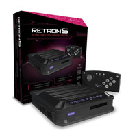 Black RetroN 5 Gaming Console