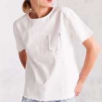 BDG Frayed Pocket Tee - Urban Outfitters