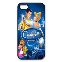 Mystic Zone Cinderella iPhone 5 Case for iPhone 5 Cover Cartoon Fits Case WSQ0210