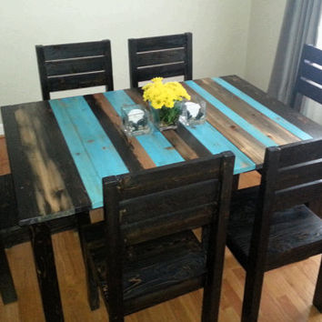 Shop Rustic Dining Table on Wanelo