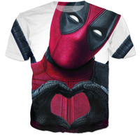 'Deadpool loves you' Tee