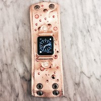 The Rockstar Apple Watch Band in Rose Gold