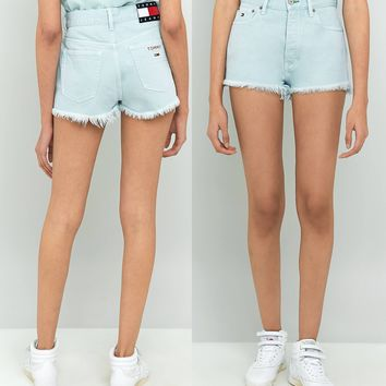 Tommy Jeans 90's High Waist Denim Shorts
