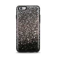 The Black Unfocused Sparkle Apple iPhone 6 Plus Otterbox Symmetry Case Skin Set