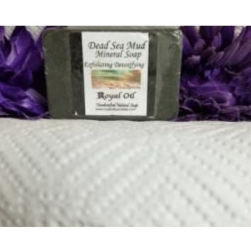 Dead Sea Mud w/ activated Charcoal Soap