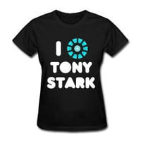 Avengers Iron Man I Heart Tony Stark Arc Reactor T-Shirt S, M, L, XL, XXL