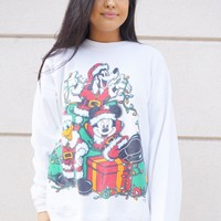 Mickey Christmas Sweatshirt