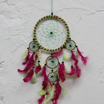 Flamingo Dream Catcher
