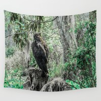 Looking for New Prey Wall Tapestry by Gwendalyn Abrams