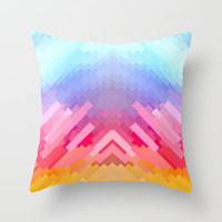 Dus25 Throw Pillow by Deniz Erçelebi