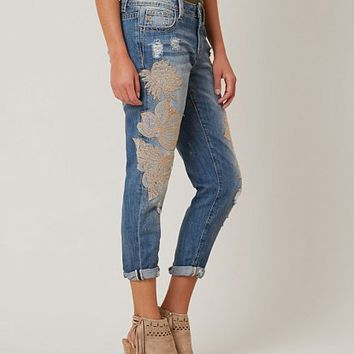 MISS ME BOYFRIEND CROPPED JEAN