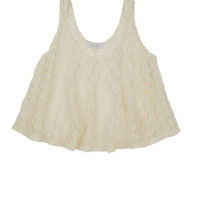 Lace Lampshade Tank