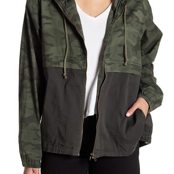 SUPPLIES BY UNION BAY | Blaine Hooded Camo Jacket | Nordstrom Rack
