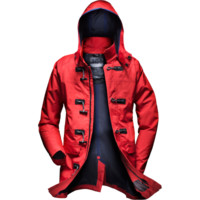 ASK CANVAS DUFFEL COAT