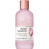 Signature CollectionROSE QUARTZ2-in-1 Bubbly Wash & Bath Milk