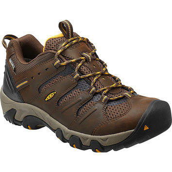 KEEN Koven WP Hiking Shoe - Men's Cascade Brown/Tawny Olive,