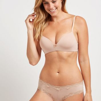 Wireless Lightly Lined Bra - Neutral | la Vie en Rose