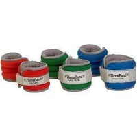 Thera-Band Comfort Fit Ankle/Wrist Cuff Weight Sets - Sold in Pairs-5lbs-Blue