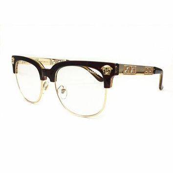 DCCKUH3 Versace Men Women Fashion Popular Shades Eyeglasses Glasses Sunglasses