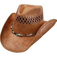 Charlie 1 Horse Women's Maui Wowi Straw Cowgirl Hat Tea Large