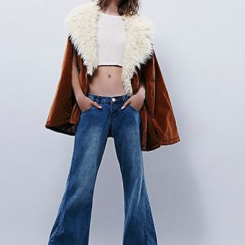 One Teaspoon Womens Relaxed Westender Flares