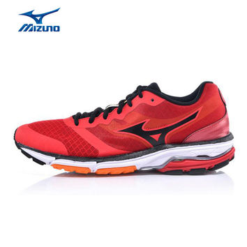MIZUNO Men WAVE UNITUS DC Mesh Breathable Light Weight Cushioning Jogging Running Shoes Sneakers Sport Shoes J1GE152189 XYP368